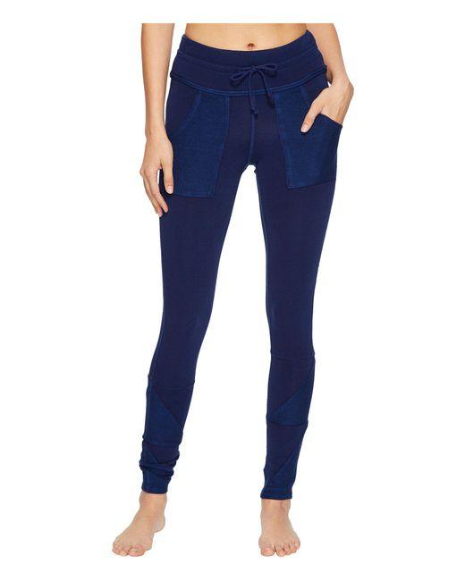 Free People - Blue Kyoto Leggings (dark Grey) Women's Casual Pants - Lyst