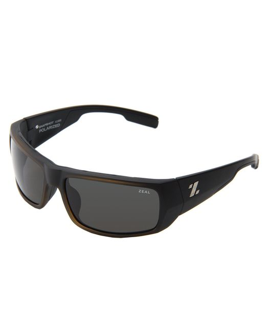 Zeal Optics - Black Snapshot (white Gloss W/ Polarized Dark Grey Lens) Sport Sunglasses - Lyst