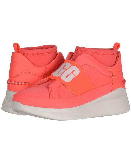 Ugg Orange Neutra Sneaker