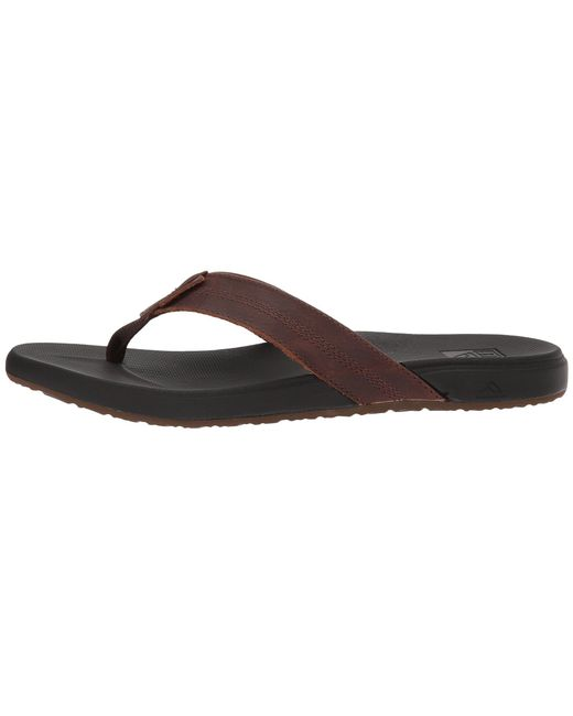 42041584328 ... Reef - Cushion Bounce Phantom Le (black brown) Men s Sandals for Men ...