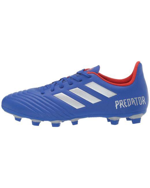 9d299a3bd4f ... Adidas - Predator 19.4 Fxg (bold Blue silver Metallic active Red) Men s  ...