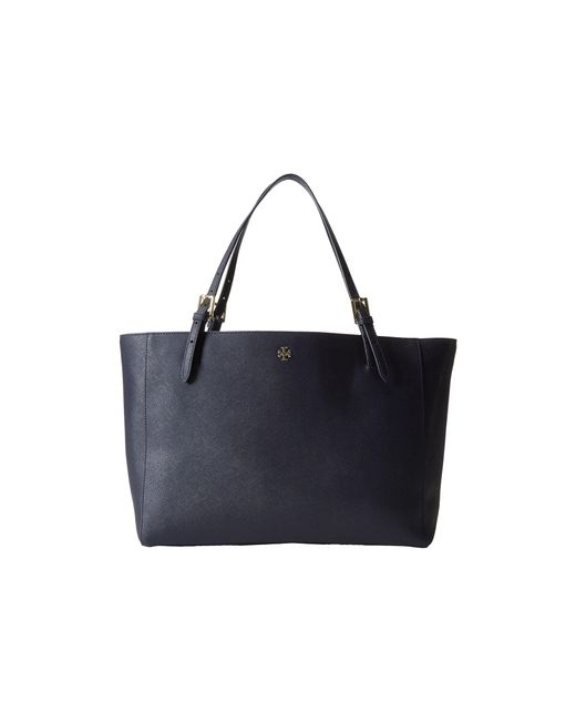 Tory Burch - Blue York Buckle Tote - Lyst