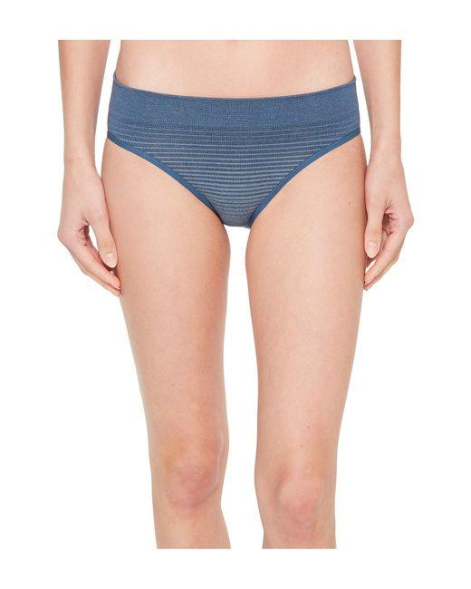 Smartwool - Blue Phd(r) Seamless Bikini (bordeaux) Women's Underwear - Lyst