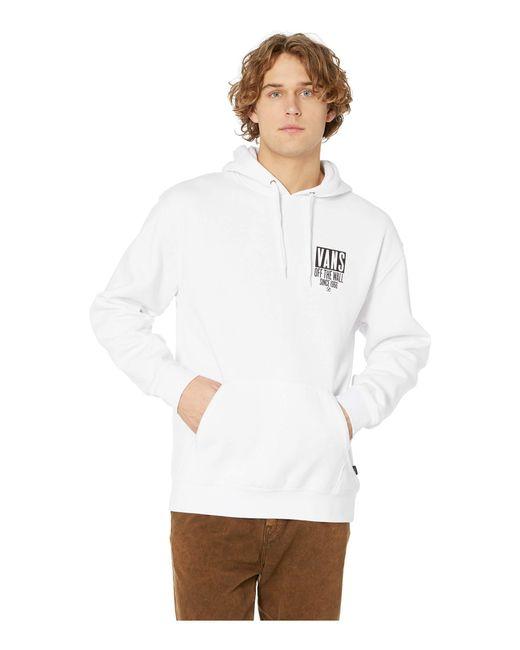 87e0fde9d4 Vans - Type Stacker Over Fleece (white) Men s Clothing for Men - Lyst ...