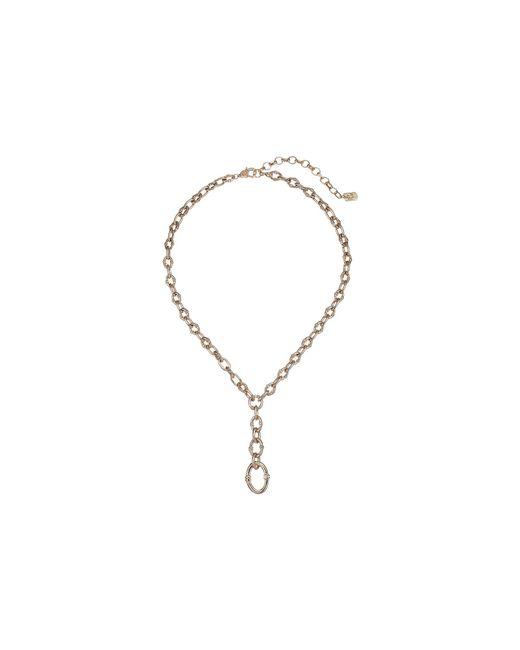 Lauren by Ralph Lauren - Metallic Link Toggle Y Necklace - Lyst