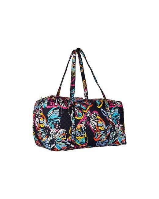 ... Vera Bradley - Multicolor Iconic Large Travel Duffel (classic Black)  Duffel Bags - Lyst ... 61fd3b3285121