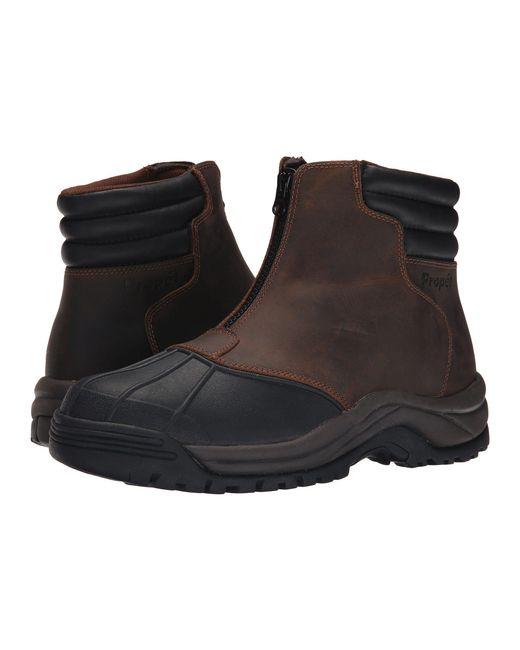 Propet - Blizzard Mid Zip (brown/black) Men's Lace-up Boots for Men - Lyst