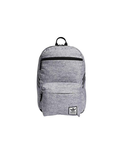 Adidas Originals Gray Originals National Sst Recycled Backpack Backpack Bags
