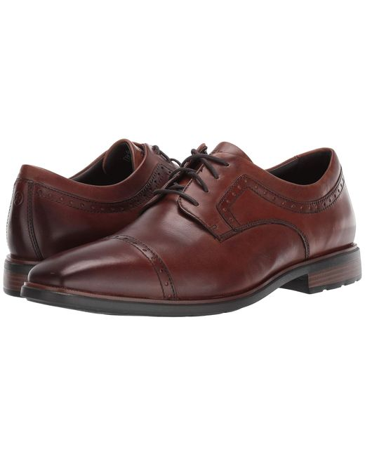 Rockport Brown Dressports Business 2 Cap Toe for men