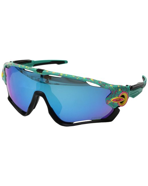 eda37d32bb Oakley - Blue Jawbreaker (polished White W  Prizm Low Light) Sport  Sunglasses for ...