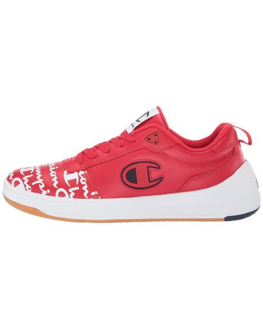 99c1817d56794 ... Champion - Super C Court Low Print (red) Men s Classic Shoes for Men ...
