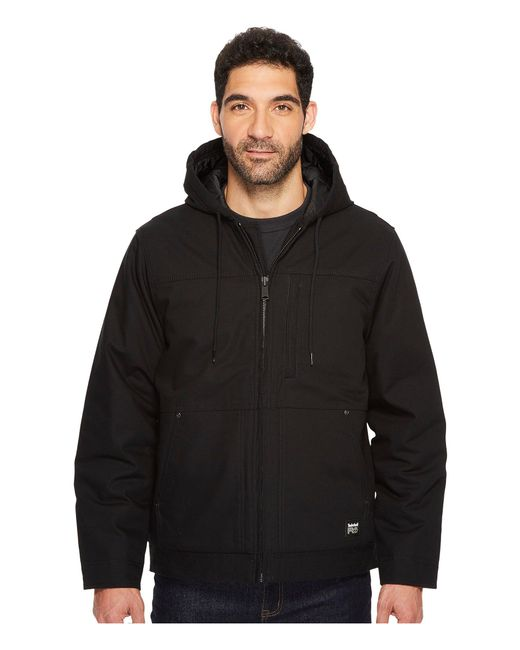 Timberland - Black Baluster Insulated Hooded Work Jacket for Men - Lyst