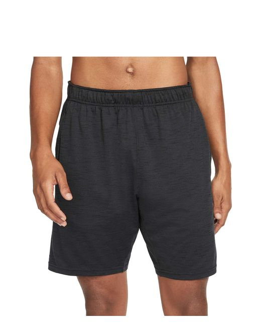 Nike Black Dry Shorts Hyperdry Light Yoga Shorts for men
