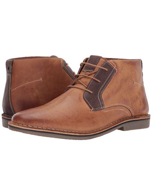 Steve Madden - Brown Herrin (tan) Men's Boots for Men - Lyst