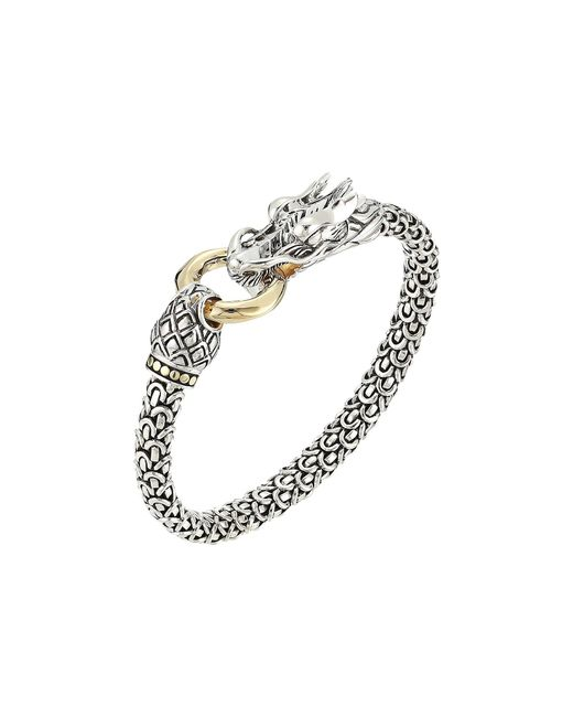 John Hardy - Metallic Legends Naga 6mm Station Bracelet - Lyst