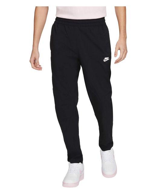 Nike Black Nsw Ul Woven Pants Utility Casual Pants for men