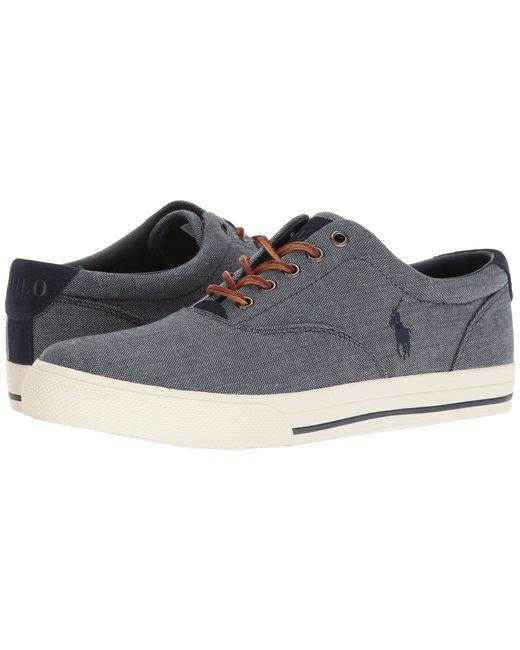 Polo Ralph Lauren - Vaughn (blue/ralph Lauren Red) Men's Lace Up Casual Shoes for Men - Lyst
