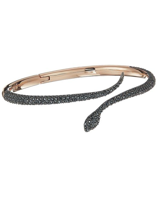 Swarovski - Multicolor Leslie Bangle (teal) Bracelet - Lyst