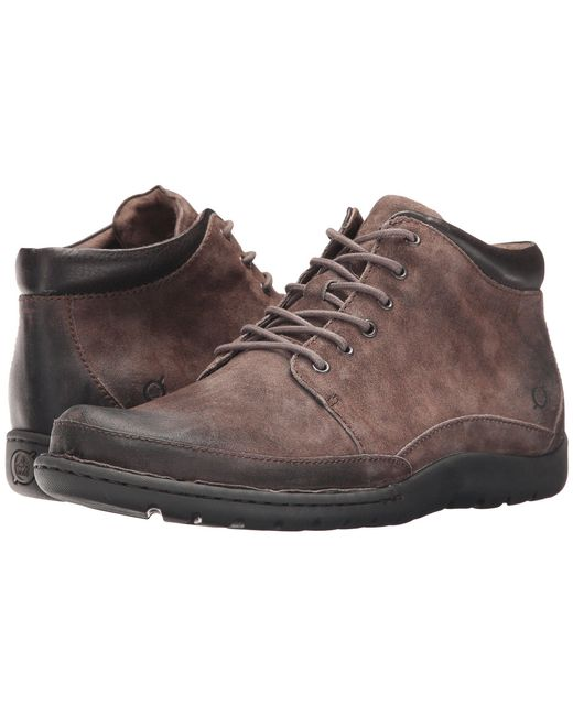 Born - Gray Nigel Boot (rust/brown Combo) Men's Lace-up Boots for Men - Lyst