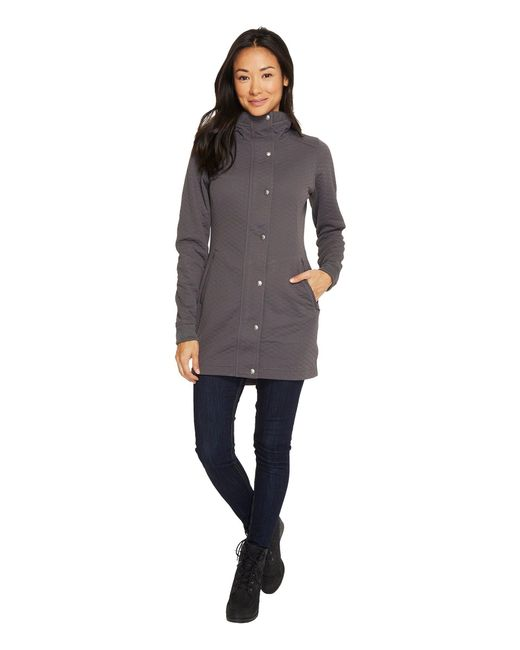 The North Face - Gray Recover-up Jacket - Lyst