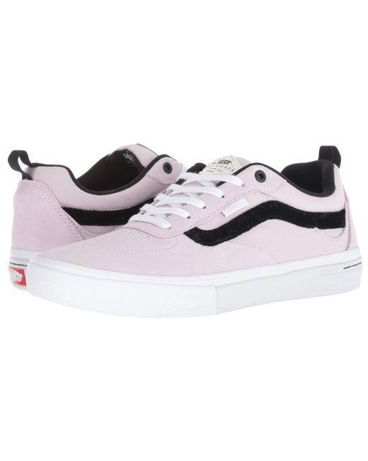 2a9f08dc6ef67b Vans - Multicolor Kyle Walker Pro ((velvet) Lavender) Men s Skate Shoes for  ...