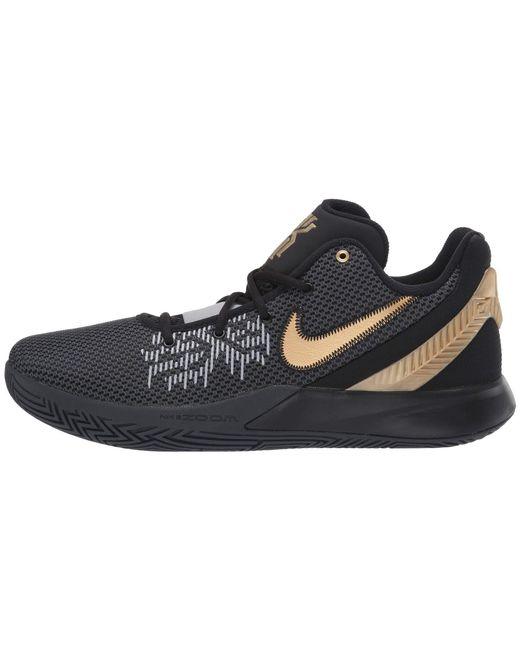 30f97cdd9641 ... Nike - Gray Kyrie Flytrap Ii (black black white) Men s Basketball Shoes  ...