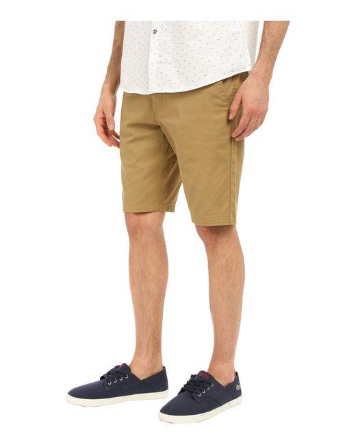 40aff0f44e6 ... Volcom - Natural Frickin Modern Stretch Chino Shorts (grey Heather)  Men s Shorts for Men ...