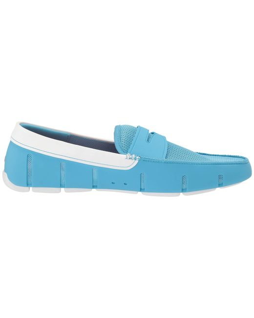 b4b773757f9 Lyst - Swims Penny Loafer (norse Blue white) Men s Shoes in Blue for Men
