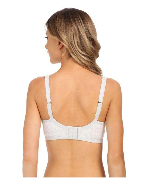 ad5711616a ... Natori - Gray Yogi Convertible Underwire Sports Bra 731050 (ballet  Slipper flax) Women s ...