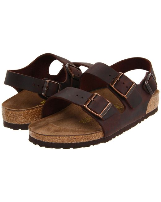 Birkenstock | Natural Milano - Oiled Leather (unisex) | Lyst