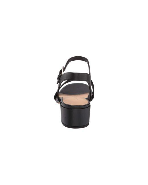 7fa94f5e9 Lyst - Clarks Orabella Iris (navy Canvas) Women s Shoes in Black
