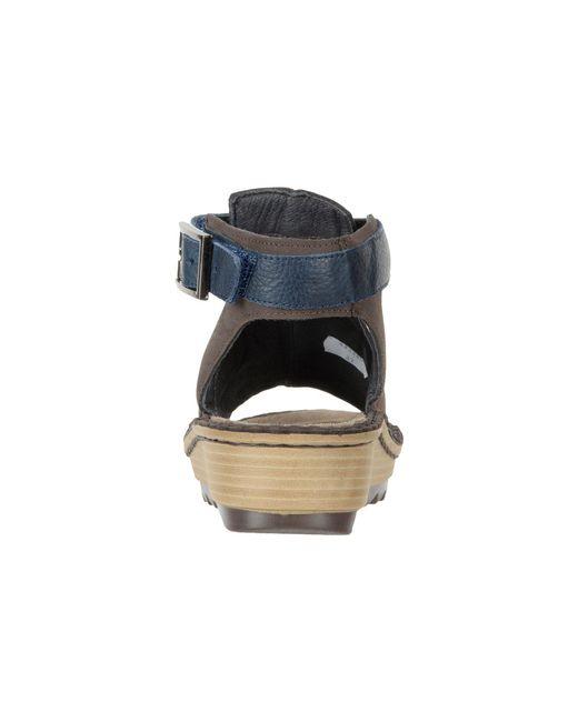 0625cf1ac7a0 Lyst - Naot Verbena (stone Nubuck latte Brown Leather) Women s Shoes ...