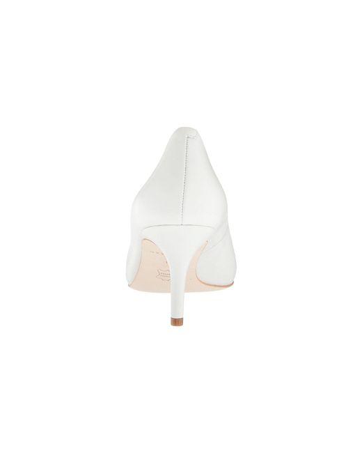 985970e16b4 ... Cole Haan - White Vesta Pump (65mm) (stormcloud Suede) Women s Shoes ...