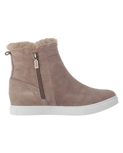 4a9311523ca0 Lyst - Blondo Glade Waterproof (dark Grey Suede) Women s Shoes in Brown