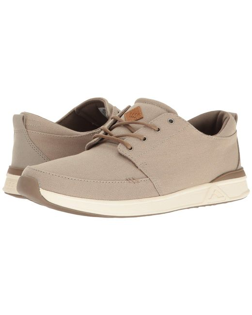 Reef | Natural Rover Low for Men | Lyst