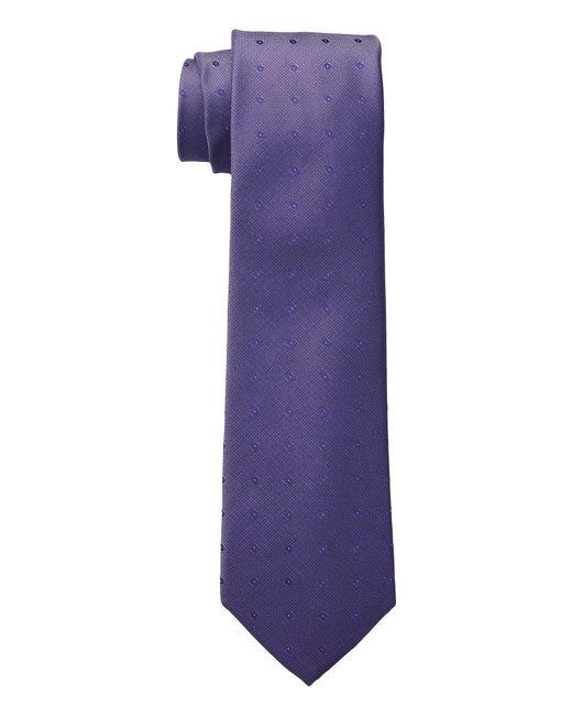 Calvin Klein - Purple New Reflection Dot (peach) Ties for Men - Lyst