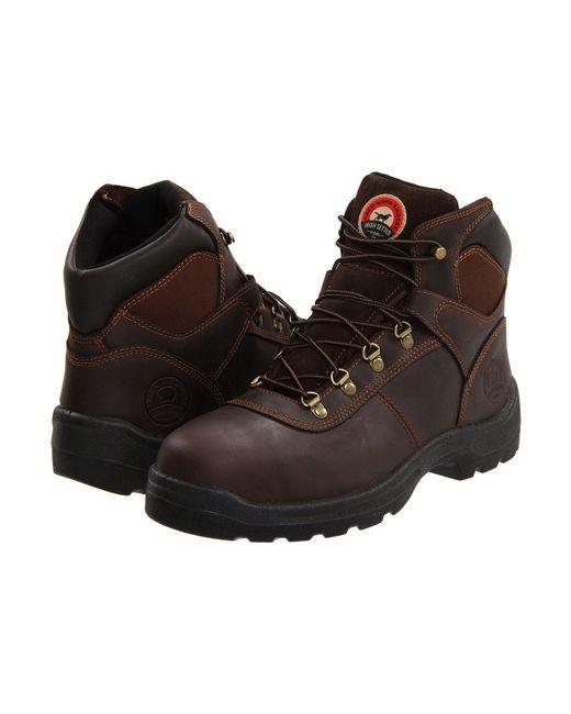 Irish Setter Brown 83608 6 Steel Toe for men