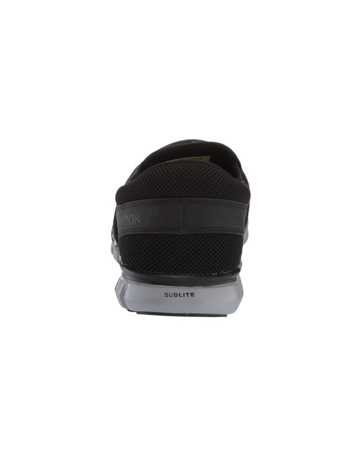 ... Reebok - Sublite Cushion Work Alloy Toe Eh Slip On (black) Men s Work  Boots ... 2dceed8d2
