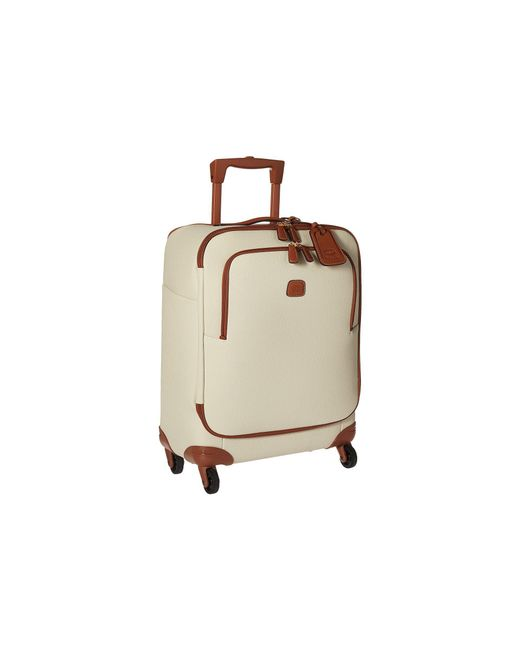 """Bric's - Natural Firenze - 21"""" Carry-on Spinner for Men - Lyst"""