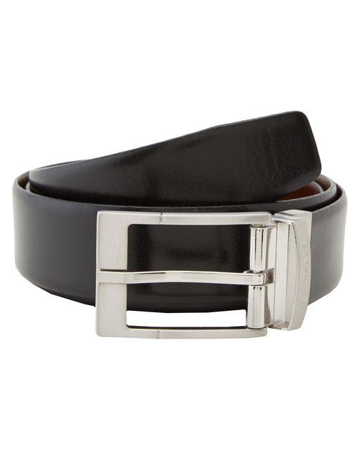 Ted Baker - Black Connary Reversible Belt for Men - Lyst