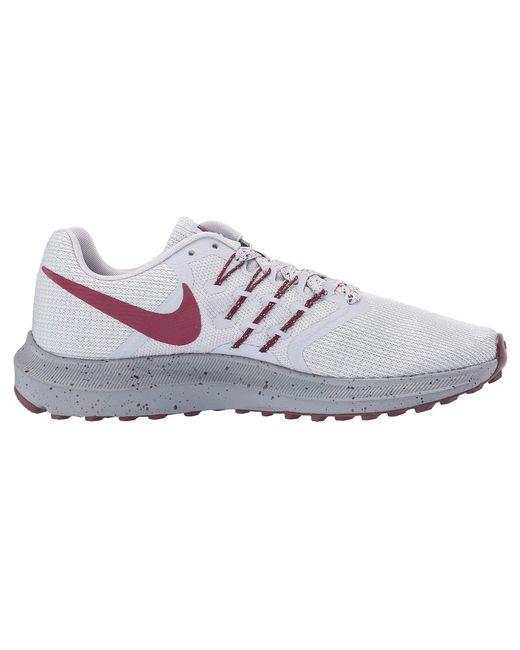 7959b8d95523c ... Nike - Gray Run Swift Se (black gunsmoke green Glow) Women s Shoes ...