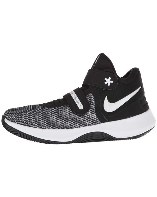 new styles 9ec0a 6a098 ... order nike air precision ii flyease black white volt womens basketball  shoes 40aa2 33e87