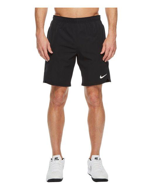 92280db08d7f Lyst - Nike Court Flex Ace 9 Tennis Short (cool Grey cool Grey cool ...