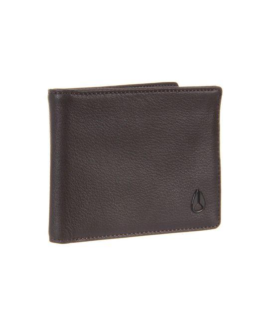 Nixon | Brown Cape Bi-Fold Wallet | Lyst