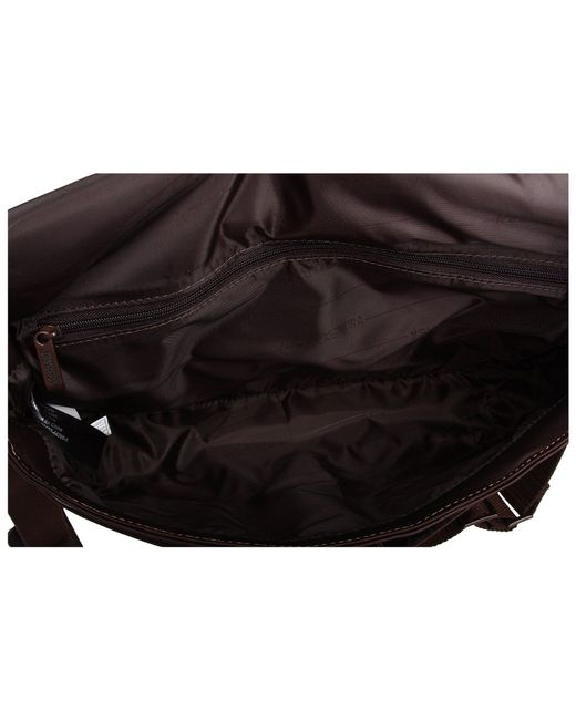 33cef9bf7e ... Kenneth Cole Reaction - Brown  risky Business  Single Gusset Messenger  Bag (cognac) ...