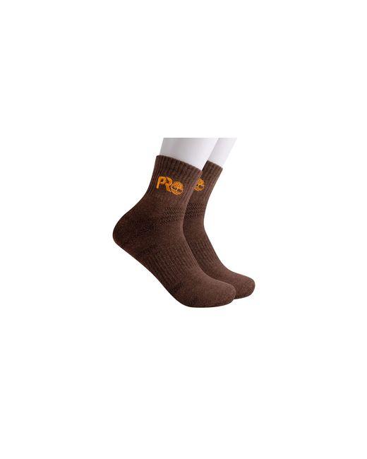 Timberland Brown 2-pack Half Cushion Quarter Boot Socks for men