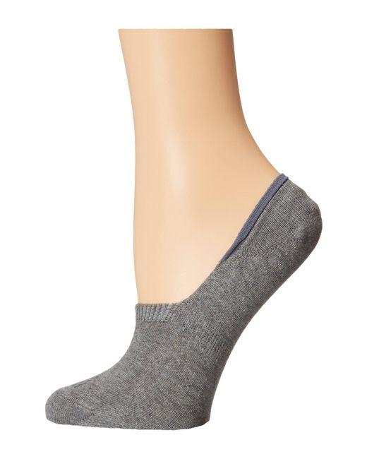 Falke - Gray Sneaker Invisible Socks - Lyst