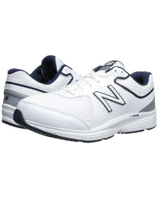 New Balance - White Mw411v2 (black) Men's Walking Shoes for Men - Lyst