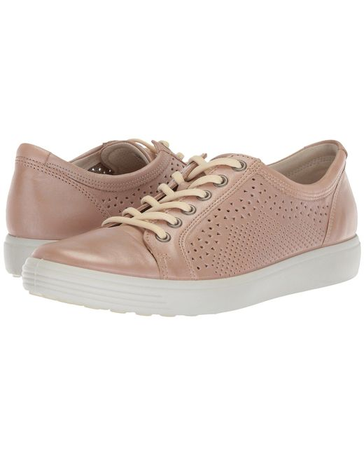 Ecco - Multicolor Soft 7 Trend Tie (arona Cow Leather) Women's Lace Up Casual Shoes - Lyst