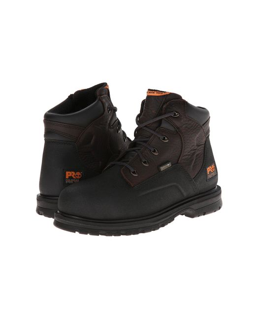 Timberland - Black Power Welt 6 Waterproof Steel Toe (rancher Brown Oiled Full-grain Leather) Men's Work Lace-up Boots for Men - Lyst